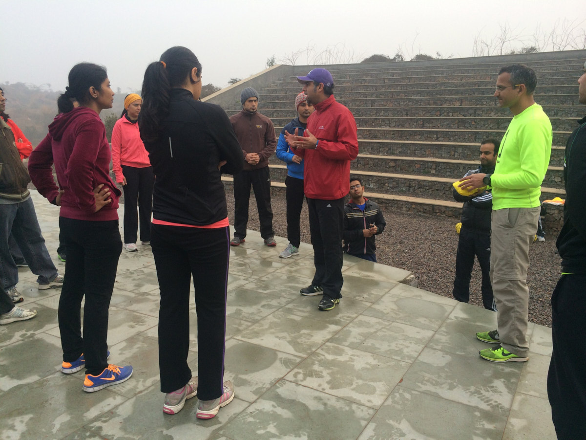 A damp chilly run in the Aravali Bio-Diversity Park « Delhi
