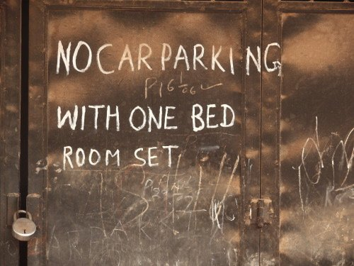 No parking for bedrooms ?