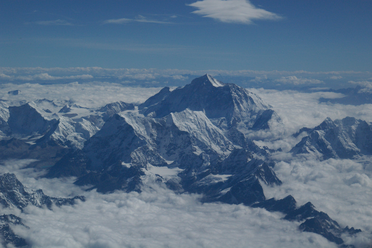 10 years ago today, to the day, trekking to Everest Base Camp…