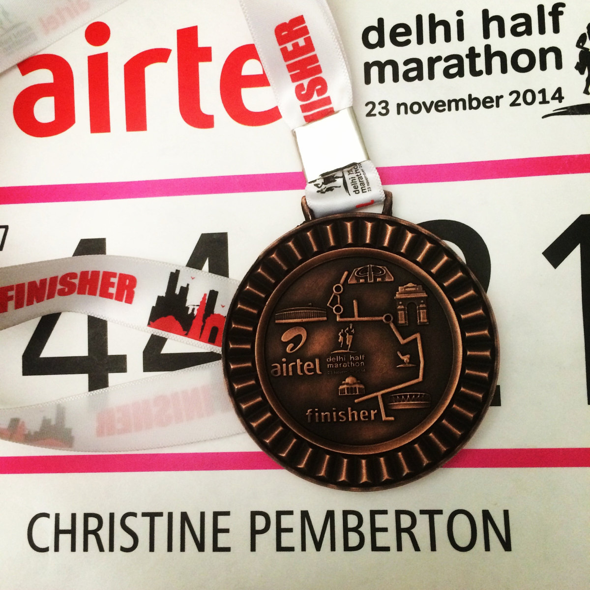 What a brilliant half marathon that was (Pity about the salty orange, though)