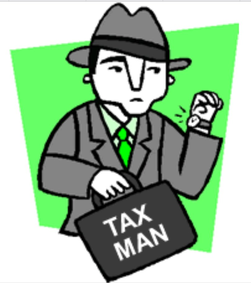 Happy New Year.  From the taxman