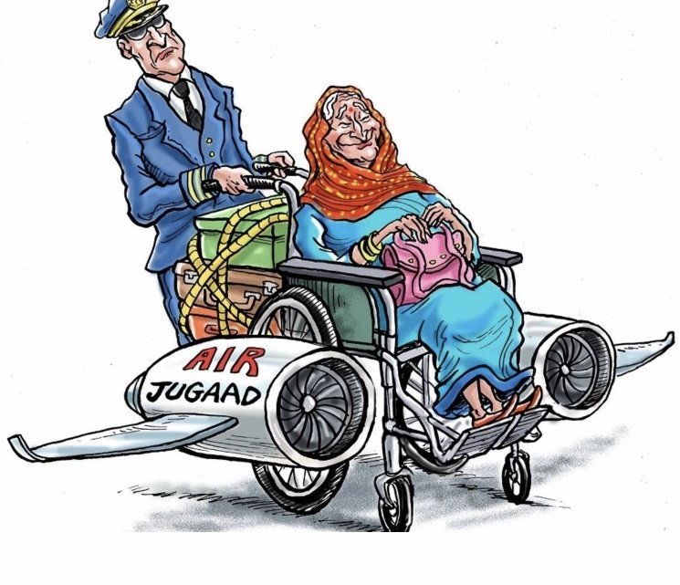 What's with wheelchairs at Indian airports?