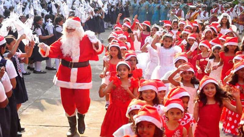 How does India celebrate Christmas?
