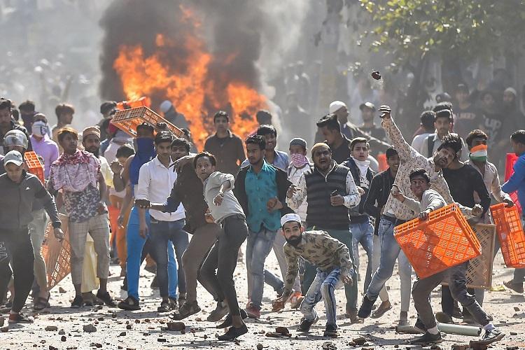 Delhi is burning.  Again