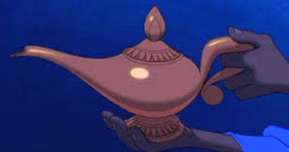 Psst?  Wanna buy a magic lamp?