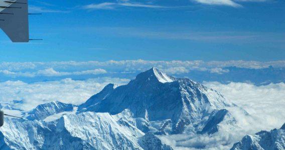 Mount Everest has grown